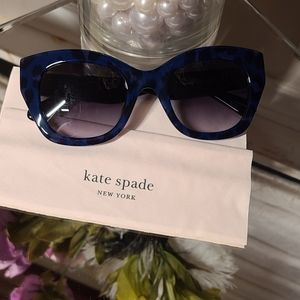 Kate spade blue/black sunglasses